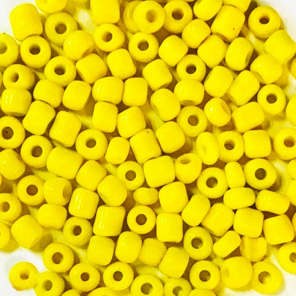 Opaque Glass Beads, Bugle Beads